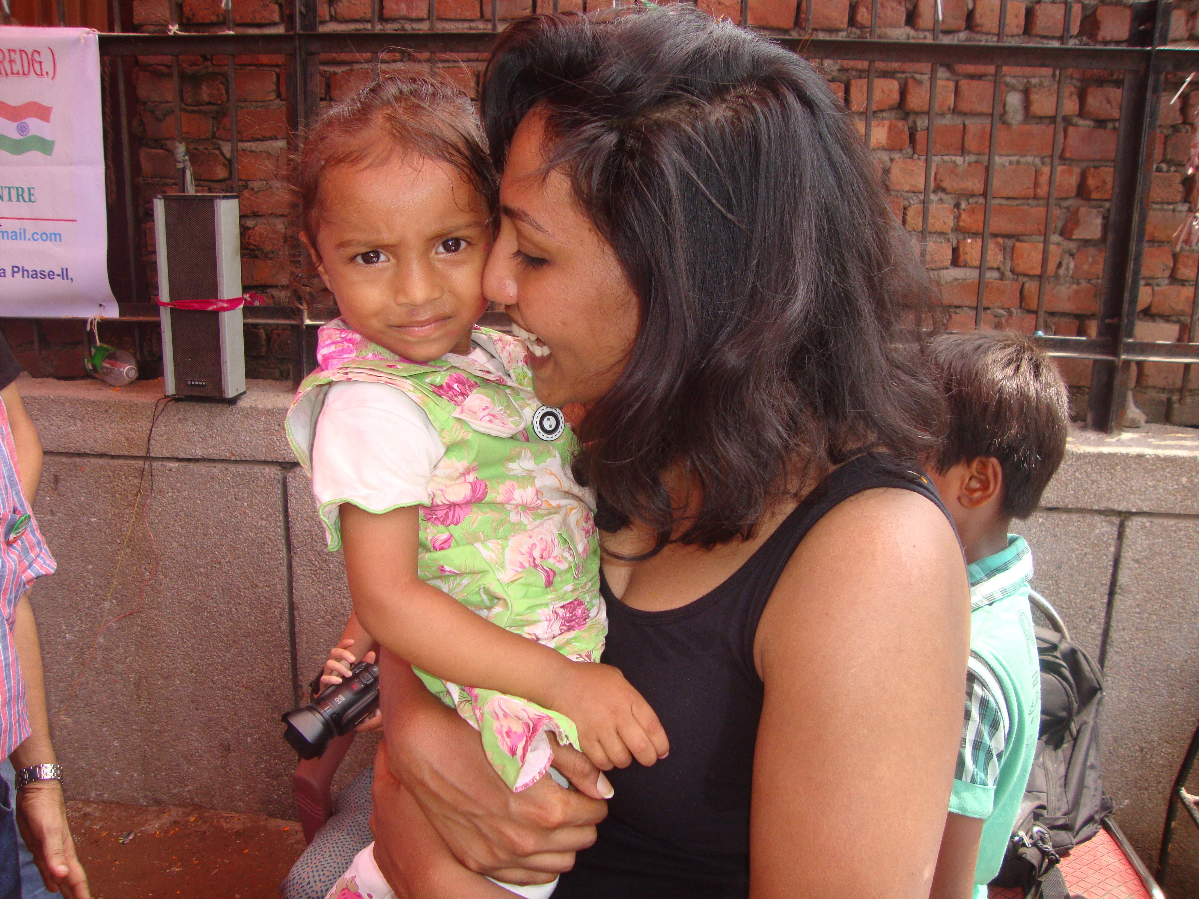 mini break volunteer in India