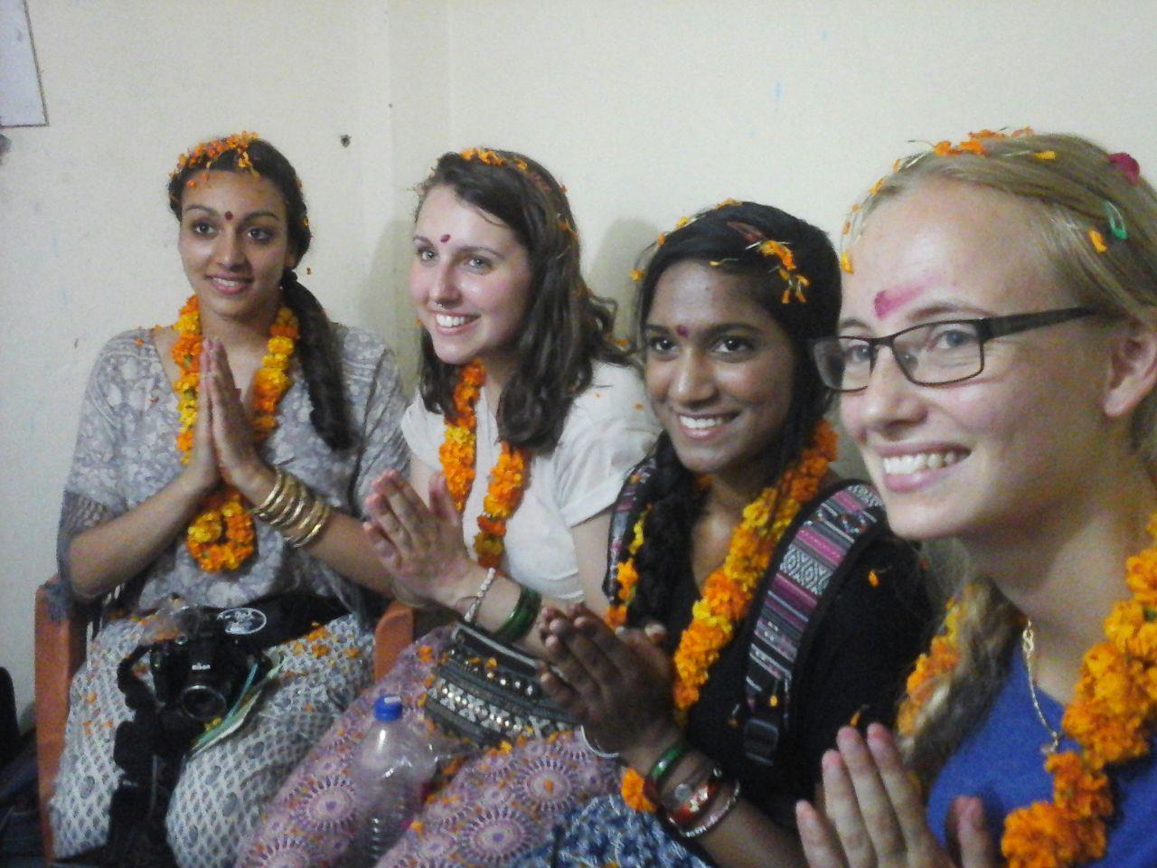 volunteer tip to India