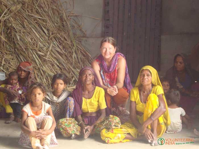 India While Volunteering