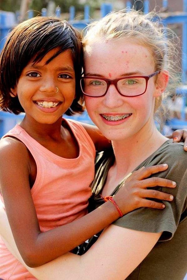 volunteer in India delhi