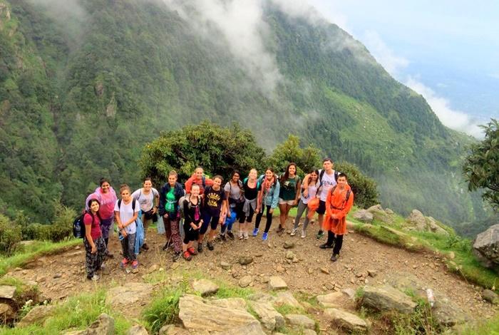 trekking at triund Dharamsala