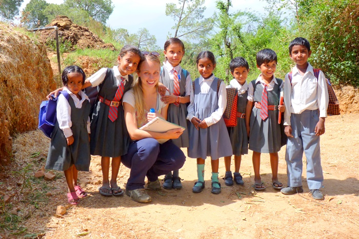 volunteer projects in palampur