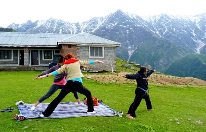 yoga at palampur