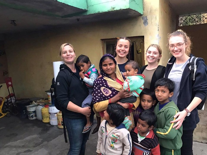 volunteer work India Dharamsala