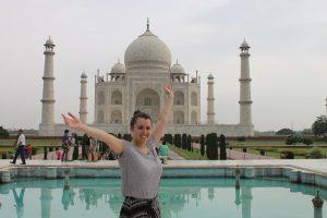agra trip by volunteer in India